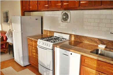 Woods Hole Woods Hole vacation rental - Kitchen, newly renovated with granite countertops. More view!