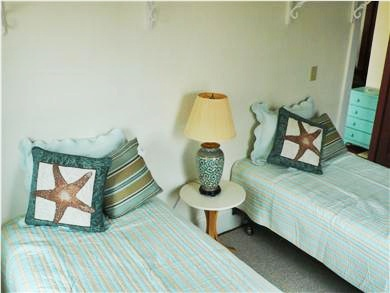 Woods Hole Woods Hole vacation rental - Bedroom with two twins on 2nd floor.One bath on each floor.