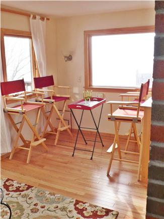 Woods Hole Woods Hole vacation rental - 3rd floor sitting area for relaxing while enjoying the view.