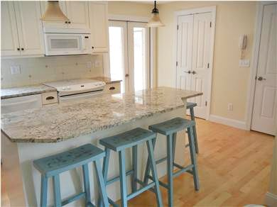 Mashpee Cape Cod vacation rental - All new appliances, door to screened-in porch