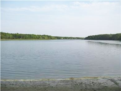 Falmouth Cape Cod vacation rental - Kayak or canoe in from the cove in Bourne's Pond.