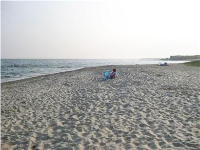Falmouth Cape Cod vacation rental - Menauhant Beach is a 2 mile bike ride or drive away.