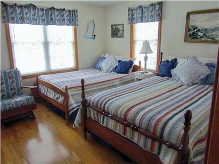 Chatham Cape Cod vacation rental - Guest room  with 2  double beds w/AC unit
