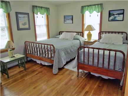 Chatham Cape Cod vacation rental - Guest room with 1 queen bed and 1 twin bed w/AC unit