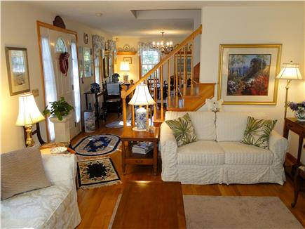 Chatham Cape Cod vacation rental - Living room facing dining room