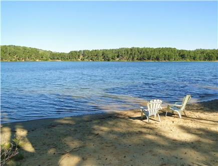 Chatham Cape Cod vacation rental - Treasure. large pond – great for  a swim, kayak  or Paddle board.