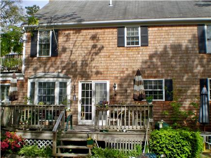 Chatham Cape Cod vacation rental - Large deck for relaxing & dining with  views of  the water