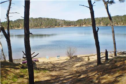 Chatham Cape Cod vacation rental - Direct access to swim,relax or fish in crystal clear Goose Pond