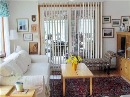 Chatham Cape Cod vacation rental - Family Room opening to both kitchen and three season room