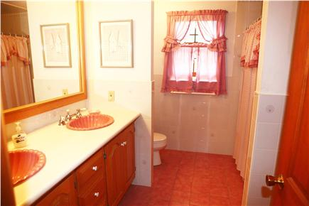 Eastham Cape Cod vacation rental - Second floor full bath, double sinks
