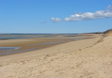 Eastham Cape Cod vacation rental - Beautiful First Encounter Beach is just 1.9 miles away!