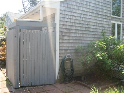 Dennis Port Cape Cod vacation rental - Private outdoor shower