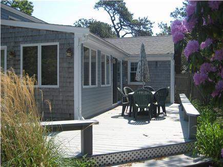 Dennis Port Cape Cod vacation rental - Back deck