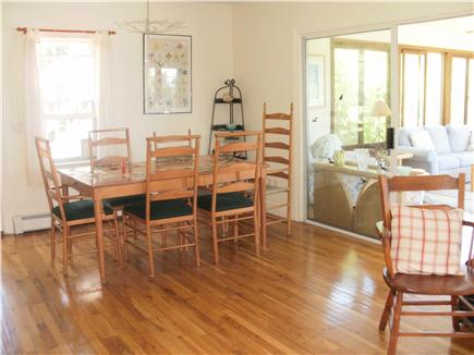 East  Sandwich-Sandy Neck Beac Cape Cod vacation rental - Light & bright dining area opens to large sunroom. Table seats 10