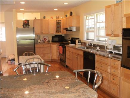 East  Sandwich-Sandy Neck Beac Cape Cod vacation rental - Fully equipped kitchen stainless appliances granite counter tops.