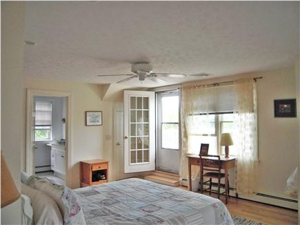 East  Sandwich-Sandy Neck Beac Cape Cod vacation rental - 2nd floor Master B.R. with private bath and Deck with ocean views