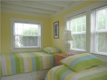 Wellfleet Cape Cod vacation rental - 2nd bedroom with 2 twin beds