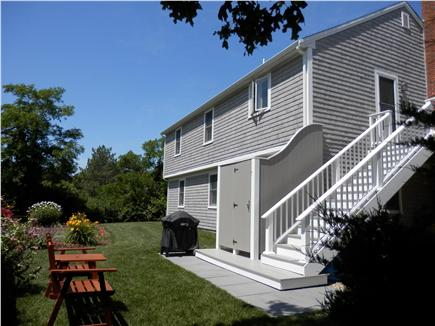 Orleans Cape Cod vacation rental - Look at Back of house with Outdoor Shower