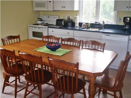 Orleans Cape Cod vacation rental - Kitchen with dining table seating 8