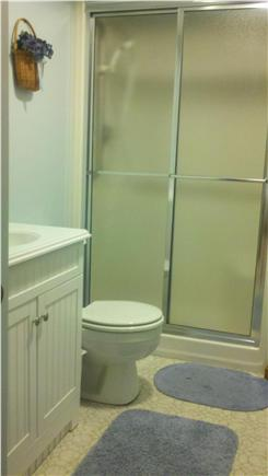 South Chatham Cape Cod vacation rental - First-Floor Bathroom