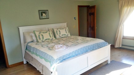 South Chatham Cape Cod vacation rental - Second Floor Master bedroom w/king bed