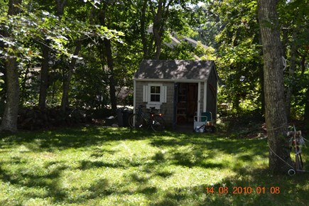 Eastham Cape Cod vacation rental - Private back yard