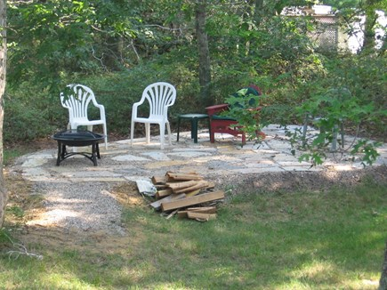 Eastham Cape Cod vacation rental - Firepit/patio