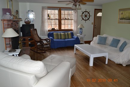 Eastham Cape Cod vacation rental - Comfortable living room seating