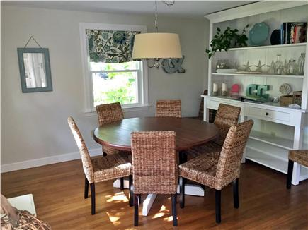 West Harwich Cape Cod vacation rental - Bring the family together in this spacious, casual dining area.