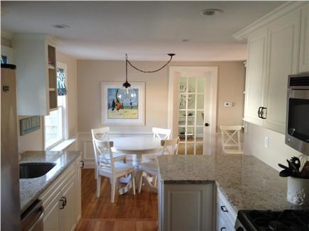 West Harwich Cape Cod vacation rental - New stainless appliances are some of the amenities here.