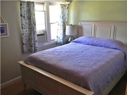 West Harwich Cape Cod vacation rental - Luxurious queen bed with flat screen and air conditioning.