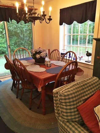 Chatham-Lovers Lake Area Cape Cod vacation rental - Dining Area