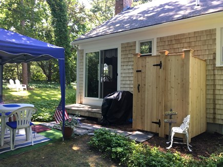 Chatham-Lovers Lake Area Cape Cod vacation rental - Brand new outside shower