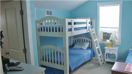 Dennisport Cape Cod vacation rental - Kids room with bunk bed and twin bed