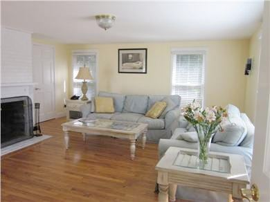 New Seabury New Seabury vacation rental - Spacious living room with fireplace