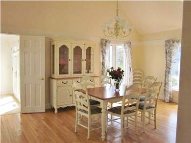 New Seabury New Seabury vacation rental - Dining area seats 8 comfortably