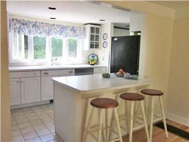 New Seabury New Seabury vacation rental - Eat-in Kitchen ''pre-renovation'' with access to deck