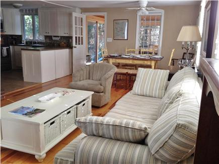 Harwich Port Cape Cod vacation rental - Living/dining area