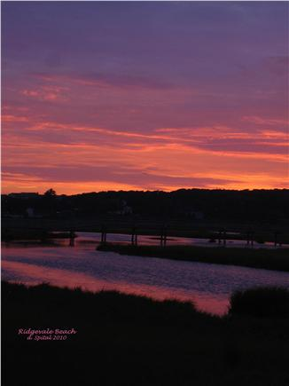 South Chatham Cape Cod vacation rental - Sunset over Ridgevale Beach