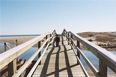 South Chatham Cape Cod vacation rental - Bridge over Bucks Creek to Ridgevale Beach