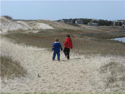 South Chatham Cape Cod vacation rental - The dunes at Ridgevale Beach