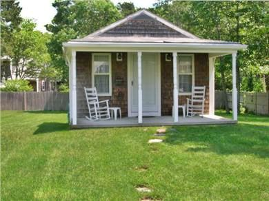 West Harwich Cape Cod vacation rental - Bonus garden house with its own porch and rockers