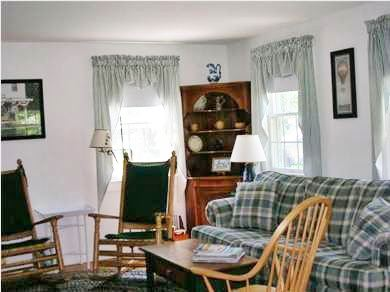 West Harwich Cape Cod vacation rental - Living room view 2