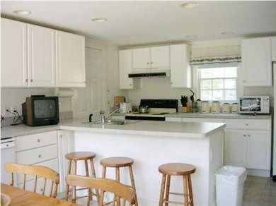 West Harwich Cape Cod vacation rental - Breakfast bar seats 3