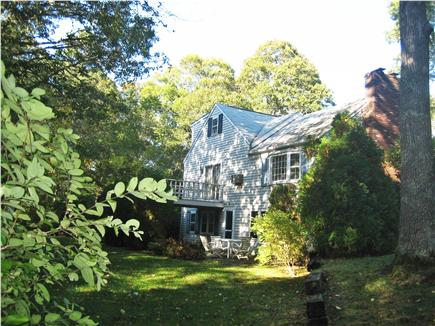 West Hyannisport Cape Cod vacation rental - Rear view of house - no neighbors in sight, awesome privacy