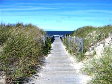 Brewster Cape Cod vacation rental - Private Walkway to Ocean Edge Beach (Cape Cod Bay)