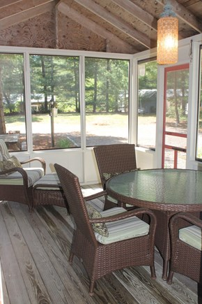 Chatham Cape Cod vacation rental - Screened-in Porch
