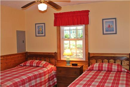 Chatham Cape Cod vacation rental - Twin bedroom with ceiling fan