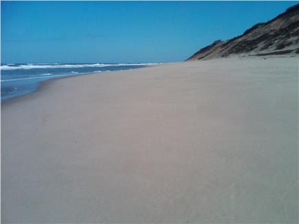 N.Truro Cape Cod vacation rental - Beautiful Head of the Meadow Beach just shy of a 1/2 mile walk.
