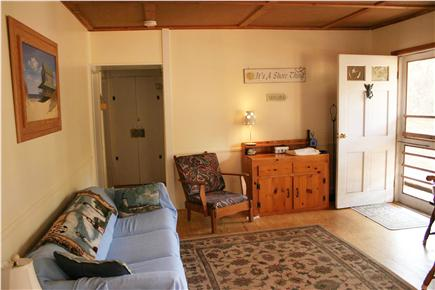 N.Truro Cape Cod vacation rental - Family room with Cable & WiFi